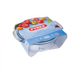 PYREX kerek sütőtál + fedő 4,9 L (3,5 l + 1,4 l)