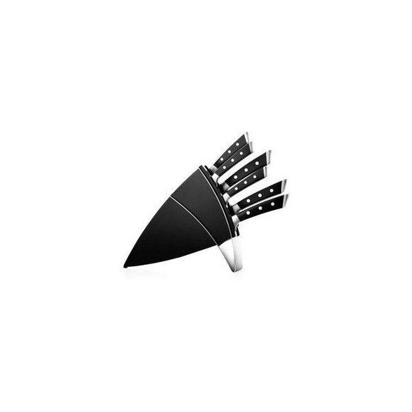 AZZA Rozsdamentes kés készlet 6 db+ tartó
