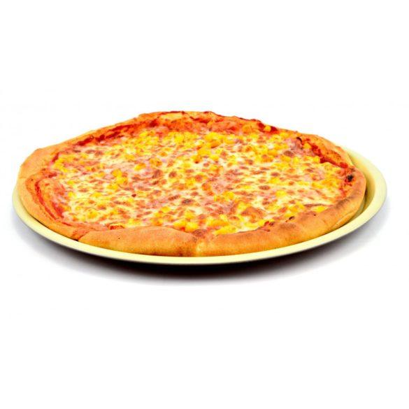 Kerámia bevonatos pizzasütő tepsi 32 cm