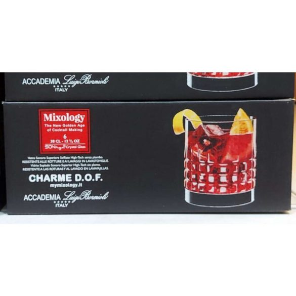 Luigi Bormioli Mixology Charme whiskys pohár készlet 6*38 cl