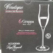 VINOTEQUE grappa pohár 10,5 cl,  6 db