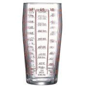 Mércés pohár 0,58 l /üveg/
