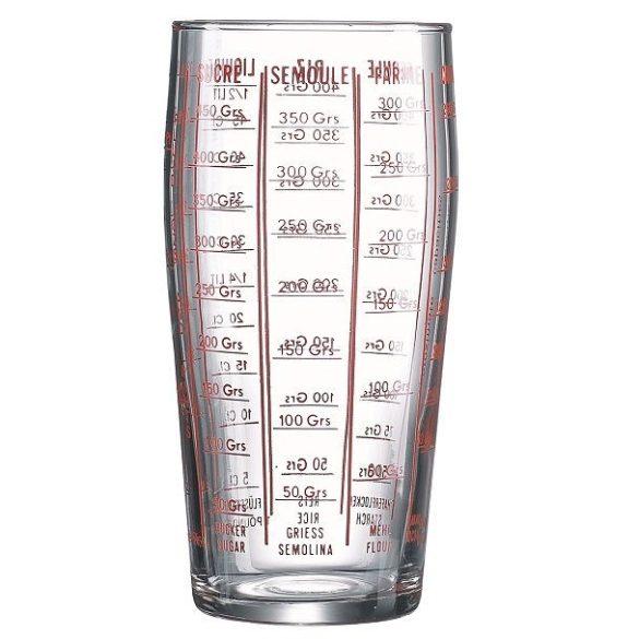 Mércés pohár 0,58 literes /üveg/