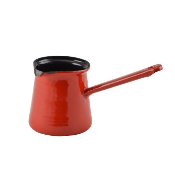 Zománcos kávékiöntő 8 cm, 6 személyes