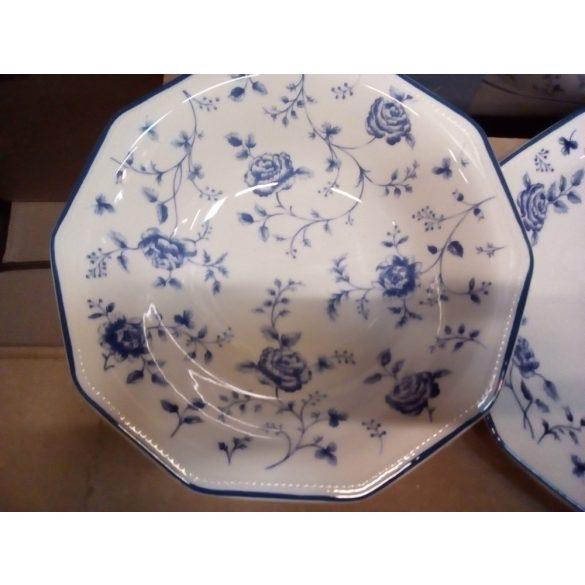 Churchill Blue Rose 19 részes kerámia étkészlet