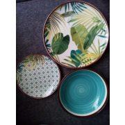 Tognana Jungle porcelán 18 részes étkészlet