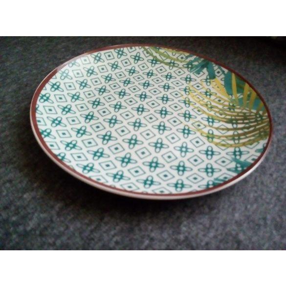 Tognana Jungle porcelán 18 részes étkészlet jó mély leveses tányérral