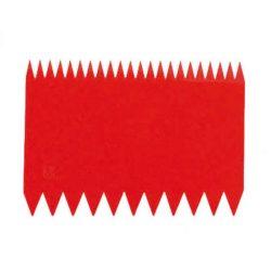 PADERNO Tésztakaparó két oldalas,  11*8 cm