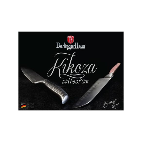 Berlinger Haus Kikoza Collection rozsdamentes acél santoku kés 20 cm