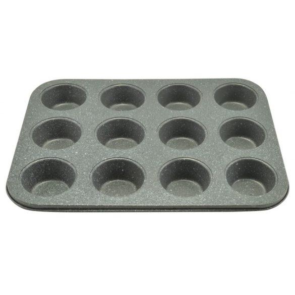 Muffinsütő 12 db-os tapadásmentes bevonattal