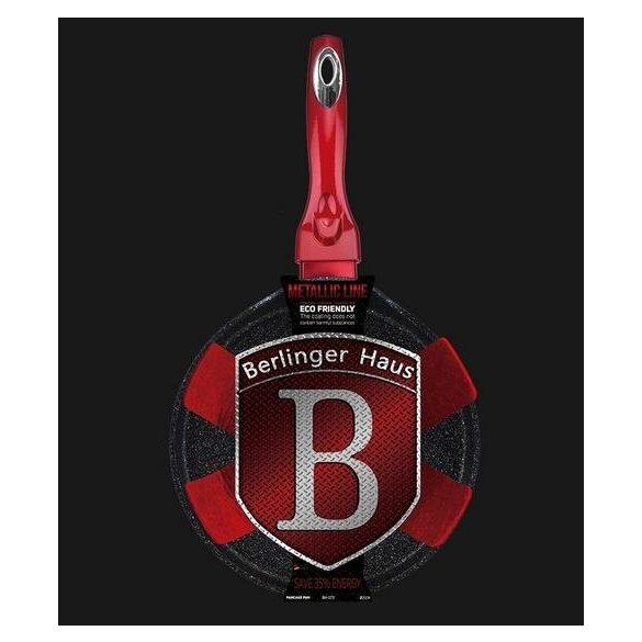 Berlinger Haus Metallic Line Palacsintasütő 25 Cm Burgundy