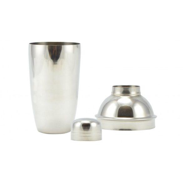 Koktél-Shaker rozsdamentes acél 500 ml, 21,5 cm