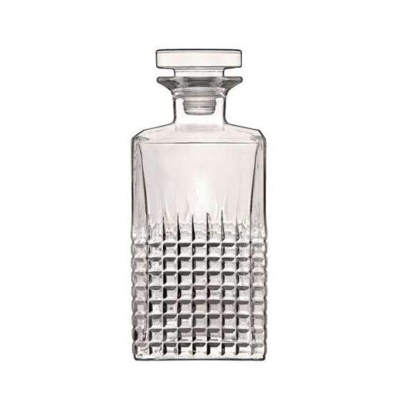 Luigi Bormioli Mixology Charme whiskys üveg 0,75 literes