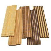 Étkezési alátét bambusz 4 db-os