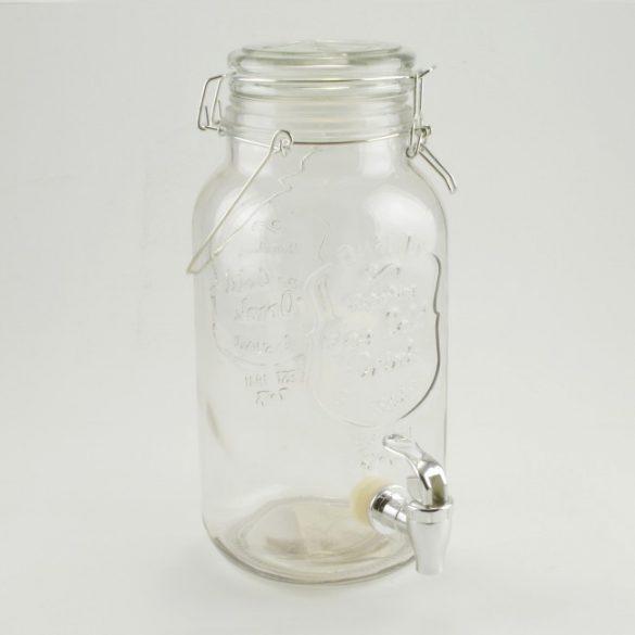 Csapos italadagoló, 4l üveg