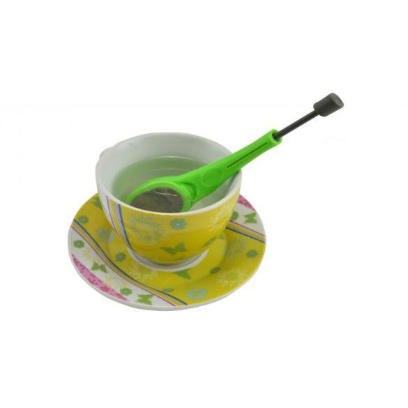 Tea/kávéfilter kinyomó