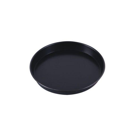 PADERNO kék acél pizzasütő kerek 24 x 2,5 cm