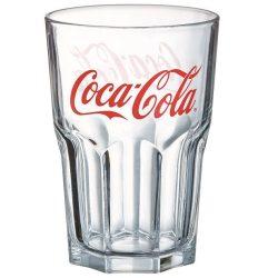 Coca-cola üveg pohár szett 6*4 dl