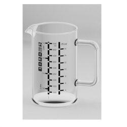 Simax hőálló mércés kancsó,  0,5 literes