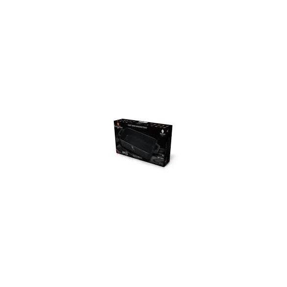 Berlinger Haus Strong Mold Seria öntöttvas tepsi zománc bevonattal, fekete 30*20 cm