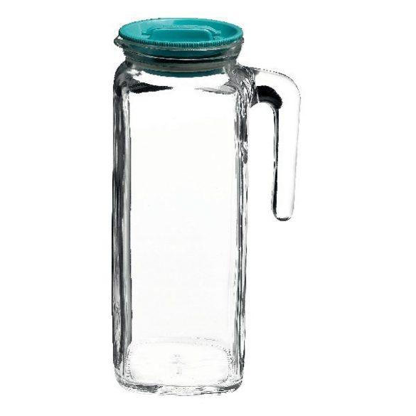 Frigoverre üveg hűtőkancsó tetővel,  1 l