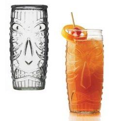 Libbey Tiki üveg üdÍtős pohár szett, 4 db,  59,2 cl