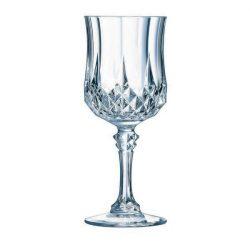 ECLAT LONGCHAMP talpas vörösboros pohár 25 cl, 6 db