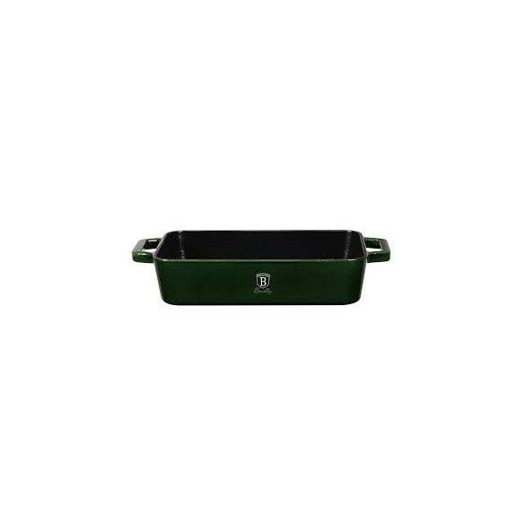Berlinger Haus Strong Mold Seria öntöttvas tepsi zománcozott bevonattal, smaragdzöld 30*20 cm