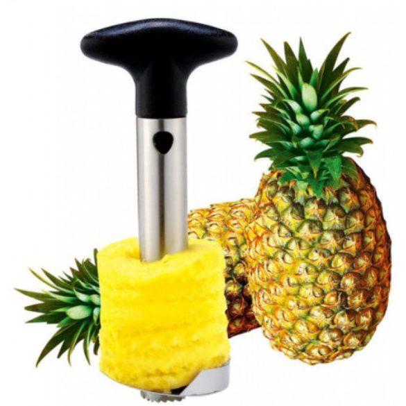 Ananász hámozó és szeletelő