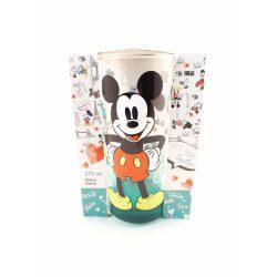Disney Mickey egeres üveg pohár 270 ml díszdobozában BERLIN design