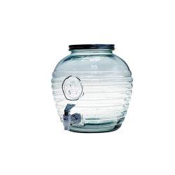Abeja zöld csapos limonádés üveg,  8 l
