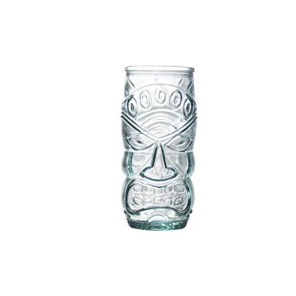 Tiki koktélos pohár szett,  4 db,   55 cl