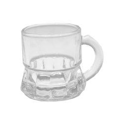 Sevilla pálinkás füles Üveg pohár készlet 6*25 ml