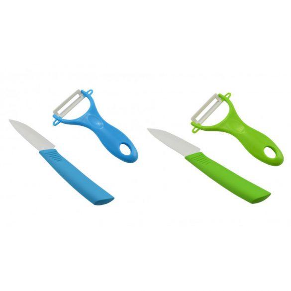 Kerámia hámozó+kés szett