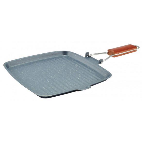 Iron Line grill serpenyő tapadásmentes bevonattal, 24 cm