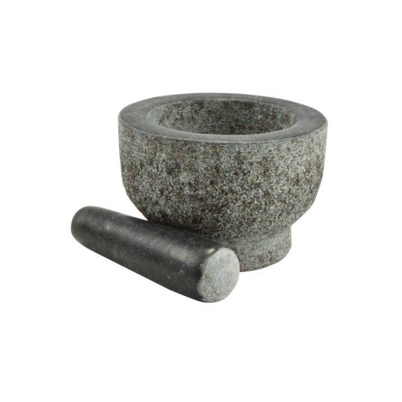 Gránit mozsár törővel 15*10 cm