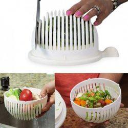 Perfect Home  Salátaszeletelő-szűrő-tálaló