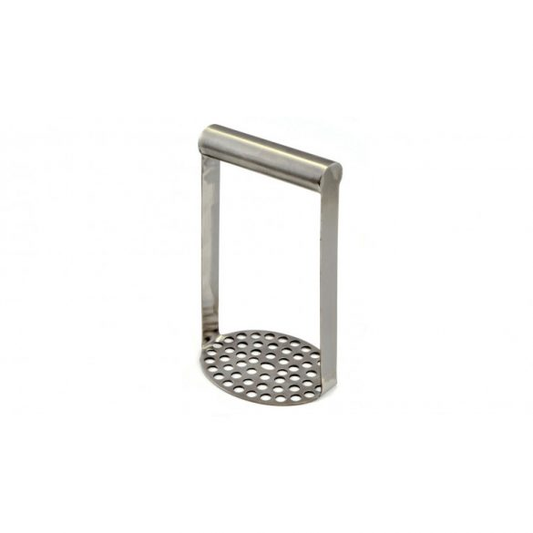 Burgonyatörő, rozsdamentes, acél, 18 cm