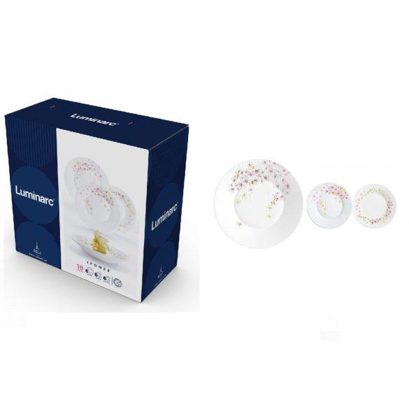 Luminarc IPOMEE üveg étkészlet 18 részes