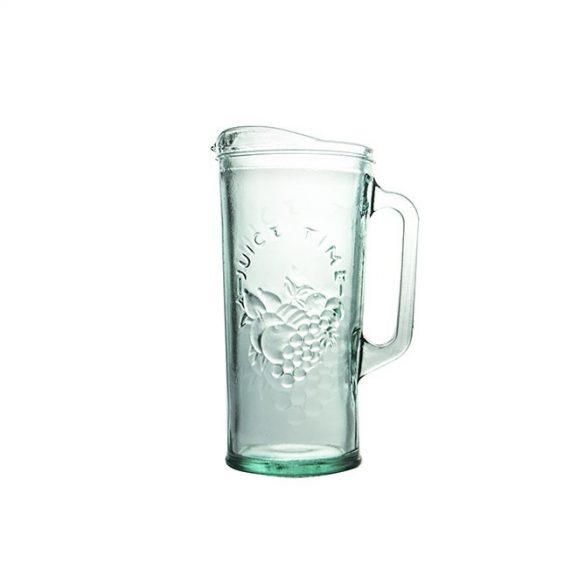 Frutas zöld üveg kancsó,  1,5 l