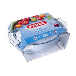PYREX ovális sütőtál  + fedő 5,8 L (4,4 l  +1,4 l)