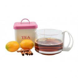 Üveg kávé-tea kiöntő 1,2 l