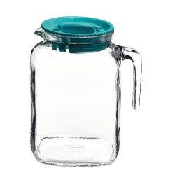 Frigoverre üveg hűtőkancsó tetővel,   2 l