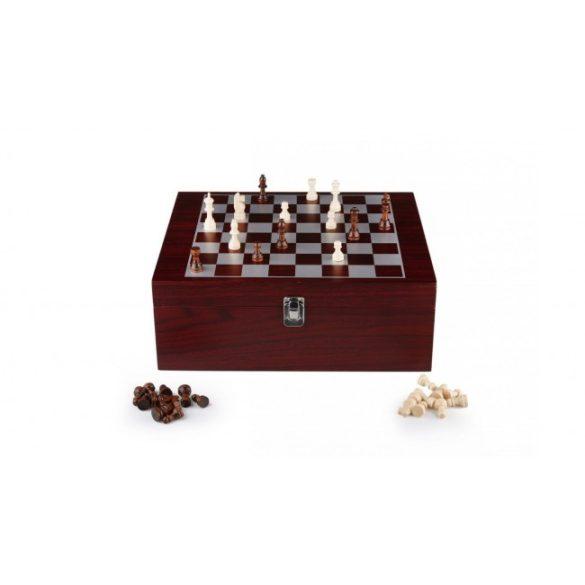 Perfect home Sakk boros készlettel fa dobozban