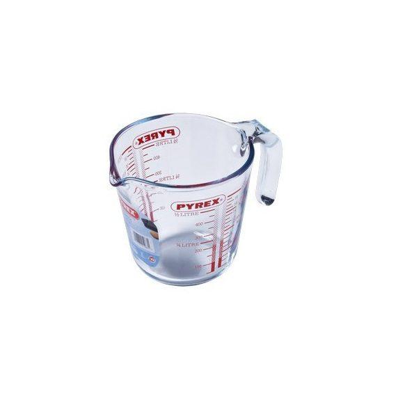 Pyrex hőálló mércés kancsó,  0,5 l