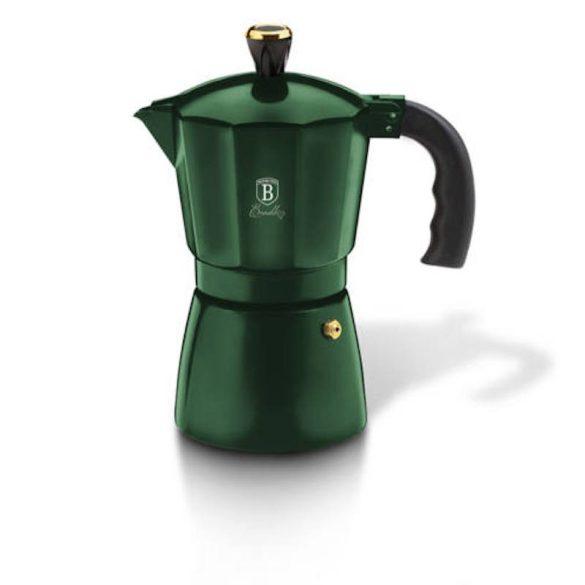 Berlinger Haus Emerald Collection Kávéfőző, 6 személyes, smaragdzöld