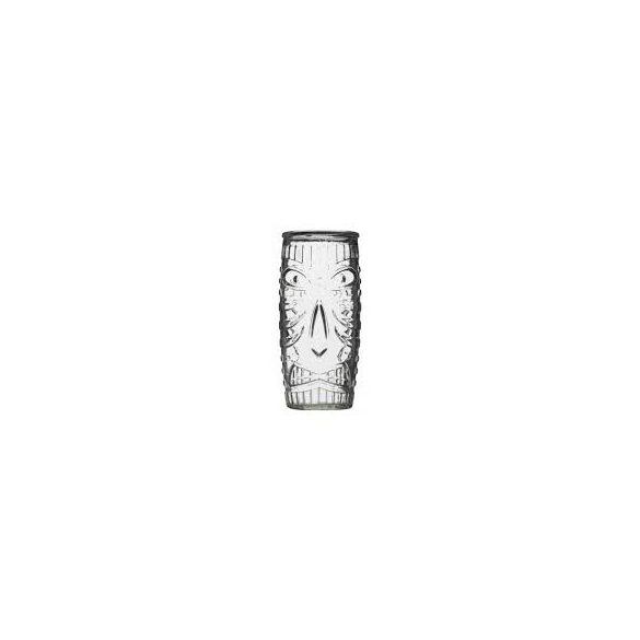 TIKI koktélos üveg pohár szett 4*55 cl