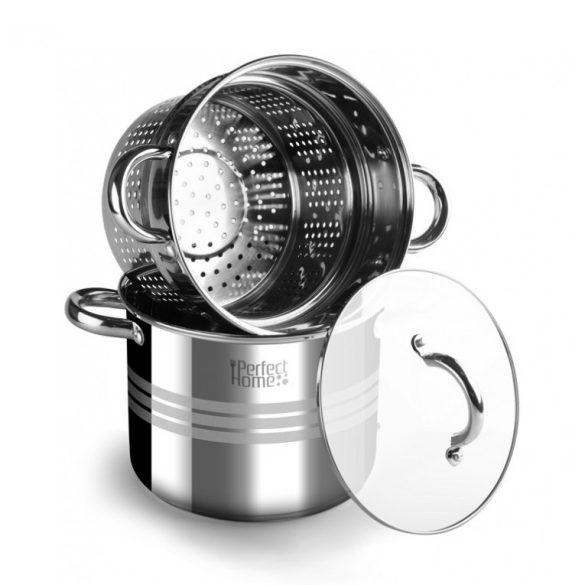 4,5 literes rozsdamentes acél tésztafőző 20*16 cm