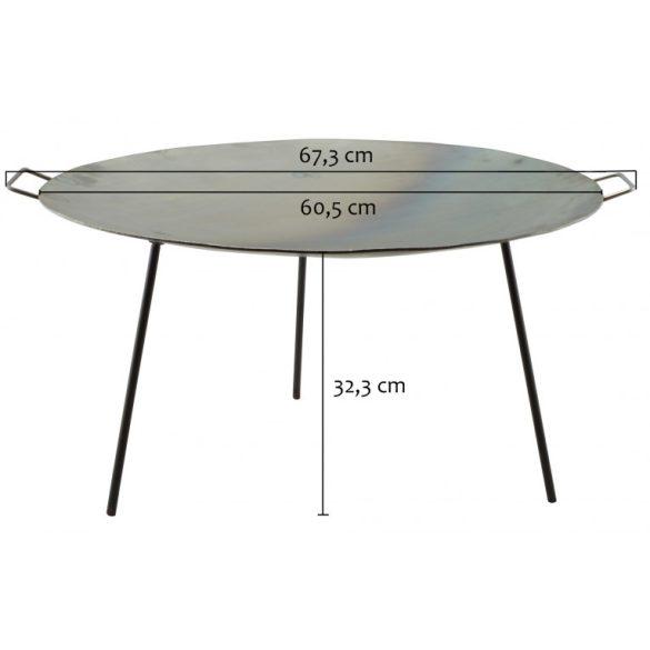 Vas grill tárcsa - boronatárcsa 60 cm