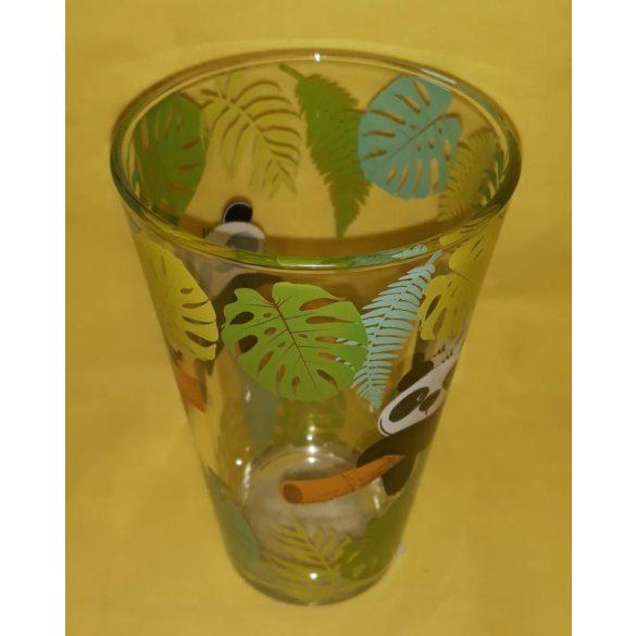 Nadia Koala mintás üveg pohár szett 6 db